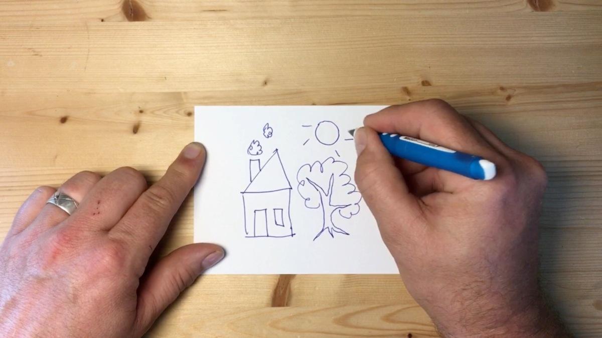 Echte Zeichnungen auf das iPad übertragen